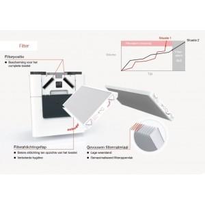 Filterset G4/F7 Zehnder ComfoAir Q