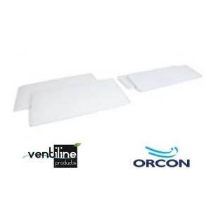 Ensemble de filtres G3/G3 pour Ventiline Orcon HRV Large/Medium sans bypass
