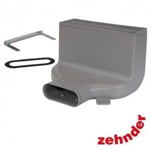 Zehnder ComfoFresh - Plenum CLF DN125/Flat 90° - Raccordement latéral - 60m³/h