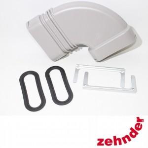 Zehnder ComfoFresh - Plenum CLF 90° - Raccordement latéral - 60m³/h