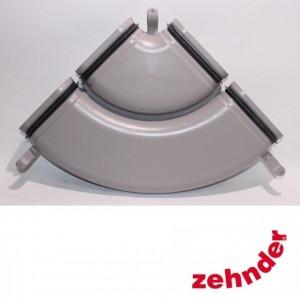 Zehnder ComfoFresh - CK 300 Gaine double Coude H pour déviation horizontale 90°