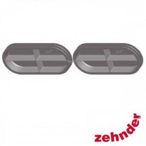 Zehnder ComfoFresh - Dubbel deksel voor luchtkanaal CK300