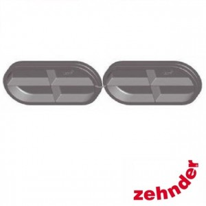 Zehnder ComfoFresh - Twin duct cap CK300