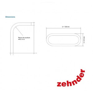 Zehnder ComfoFresh - Luchtkanaal Flat 51- HDPE - 20m ...