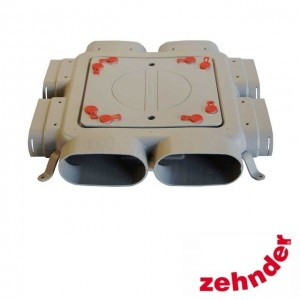 Zehnder ComfoFresh - Flat 51 6-way manifold