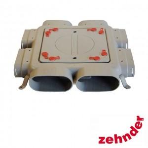 Zehnder ComfoFresh - Luchtverdeelkast Flat 51-6