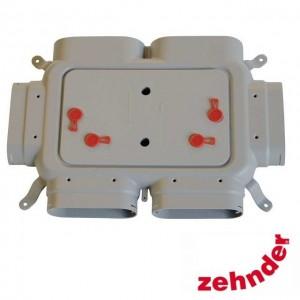 Zehnder ComfoFresh - Flat 51 4-way manifold