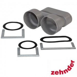 Zehnder ComfoFresh - Junction Flat 51 / 2XDN75