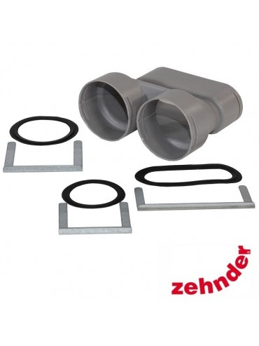 Zehnder ComfoFresh - Junction Flat 51 / 2XDN75