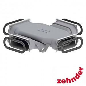 Zehnder ComfoFresh - Pièce de croisement ComfoTube Flat 51