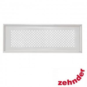 Zehnder - Supply and extract air designer grille Pisa white for CLF -  990322082
