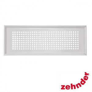 Zehnder - Supply and extract air designer grille Torino white for CLF -  990322084