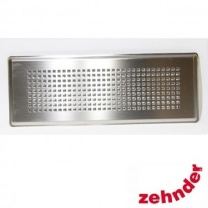 Zehnder - Supply and extract air designer grille Torino stainless steel for CLF -  990322085