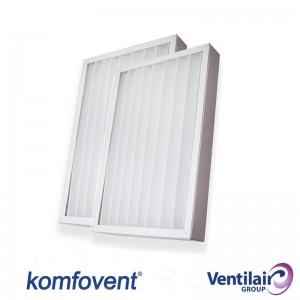 Ensemble de filtres M5/M5 pour Ventilair Komfovent Domekt RECU 400-CF