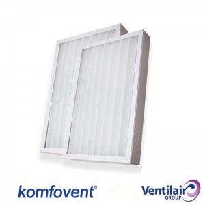 Filter set M5/F7 for Ventilair Komfovent Domekt RECU 400V-CF
