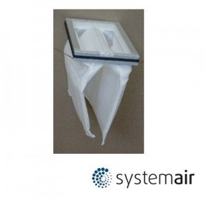 Filter outgoing G3 / EU3 for SystemAir VR400 DCV/EV/EC/D - 12433