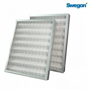Filter set G4/G4 for Swegon Titanium CF Mural 600/800