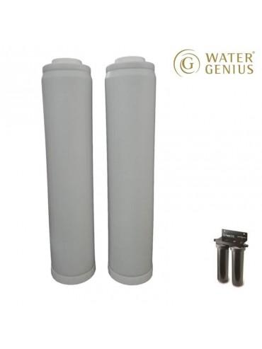 Watergenius - Vervangcartouche voor RWS XXL  (2 stuks)
