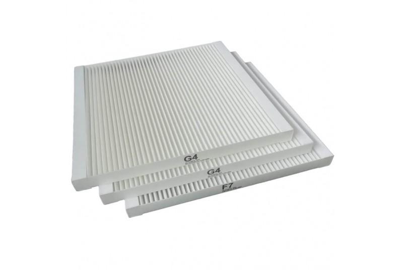 Vasco DX4 / DX5 / DX6   Filter set G4/G4/F7   11VE50362