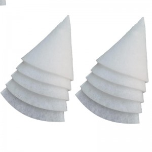 G3 filters for round airduct DN125 (conical) - 10 pieces