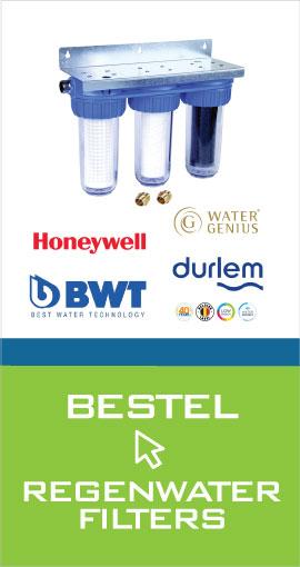 Bestel regenwaterfilters