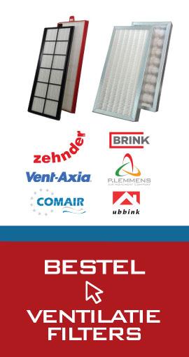 Bestel ventilatiefilters